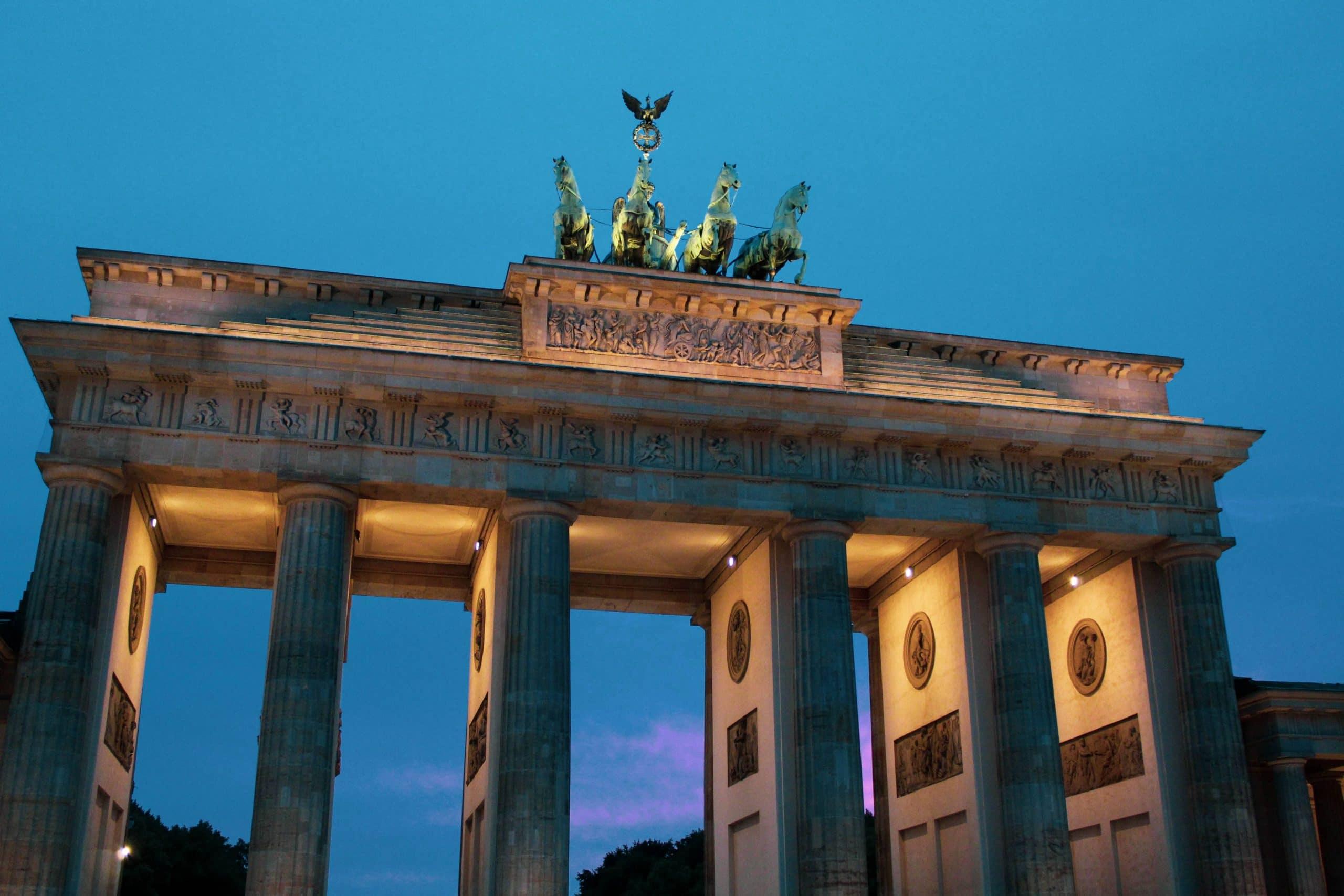 la porte de Berlin